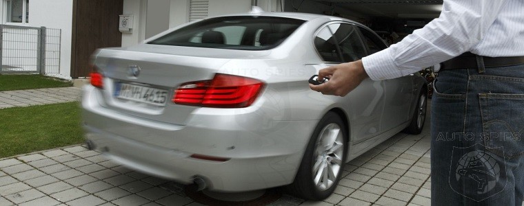 Bmw Technology At It S Finest Park Your Car Using Nothing But Your
