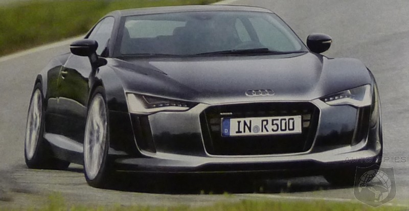 Great Shot Of The Upcoming Audi R Will It Be A Killer - Audi r5
