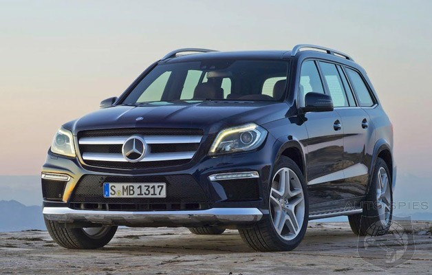 Motor Trend SUV of the year: Mercedes GL