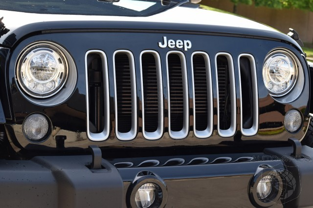 2017 Jeep Wrangler Received Modern Headlights