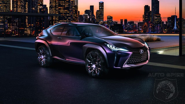 Lexus UX Concept – A Picture of a Perfect Compact Crossover