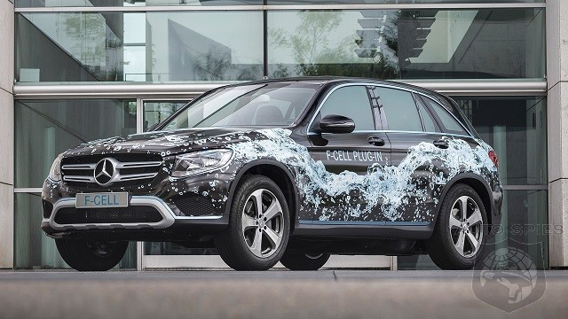 2019 Mercedes-Benz GLC F-Cell - The first SUV that runs on both fuel cells and batteries