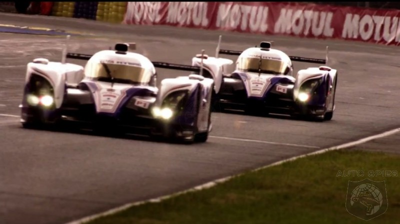 Toyota TS030 Hybrid Wins First Race
