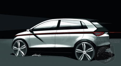 Audi Scrambles Bmw I3 Compeor Releasing A2 Ev Concept Deisgn Sketches