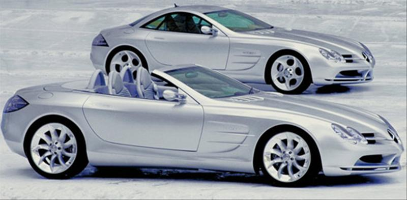 Drop top mercedes slr due within six months autospies for Mercedes benz drop top