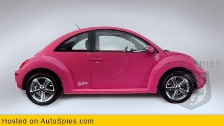 Volkswagen Beetle Barbie debuts in Mexico - AutoSpies Auto News