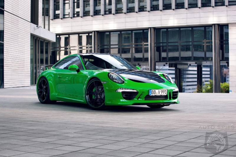 TechArt Porsche 911 Carrera 4S Unveiled