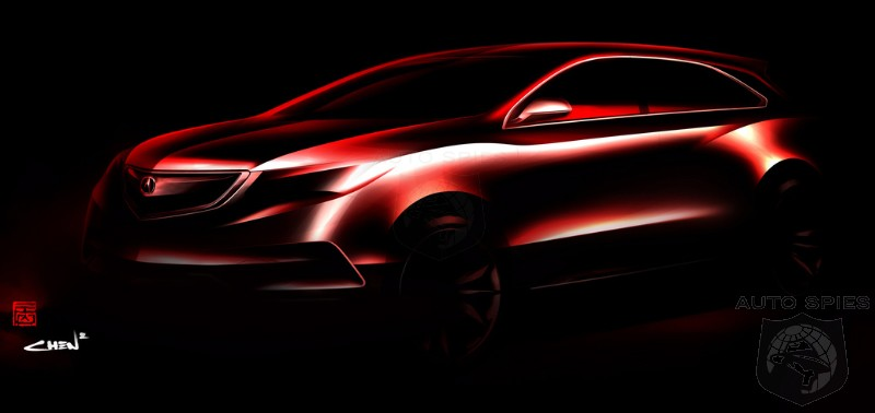 Acura releases sneak peak of MDX Prototype