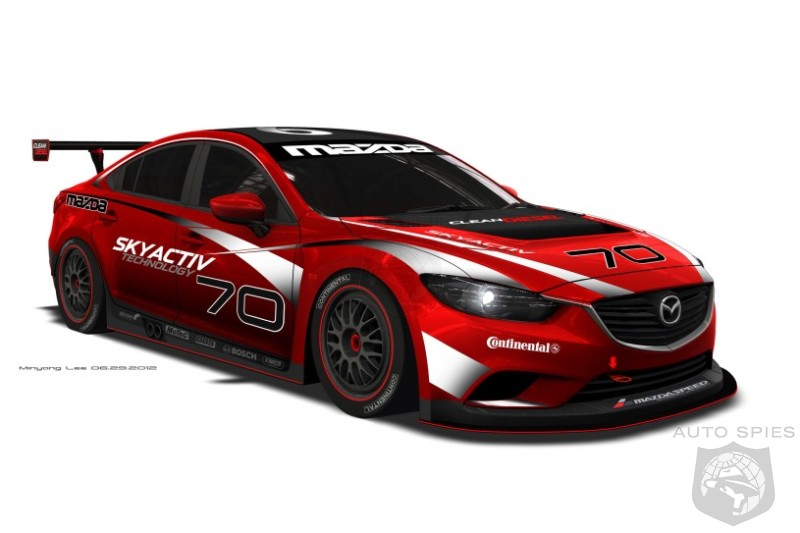 Mazda 6 Diesel headed to Rolex 24 hours