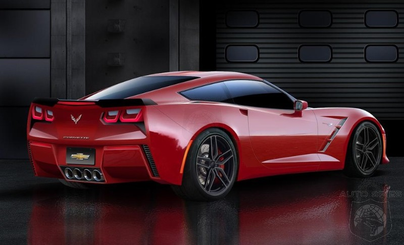 Chevrolet C7 Corvette speculative rendering