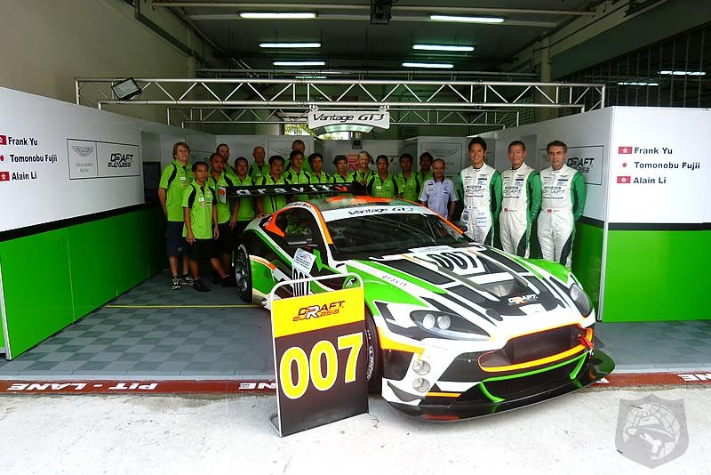 Craft Racing enters first Endurance race of the year with an Aston Martin Vantage GT3