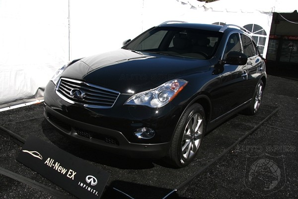 Infiniti EX35 - Better than Acura RDX and BMW X3?