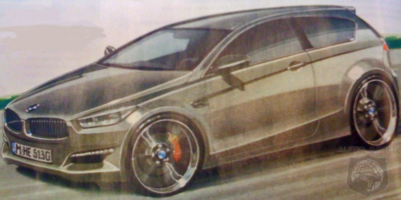 Is This What BMW's First Electric Car Will Look Like?
