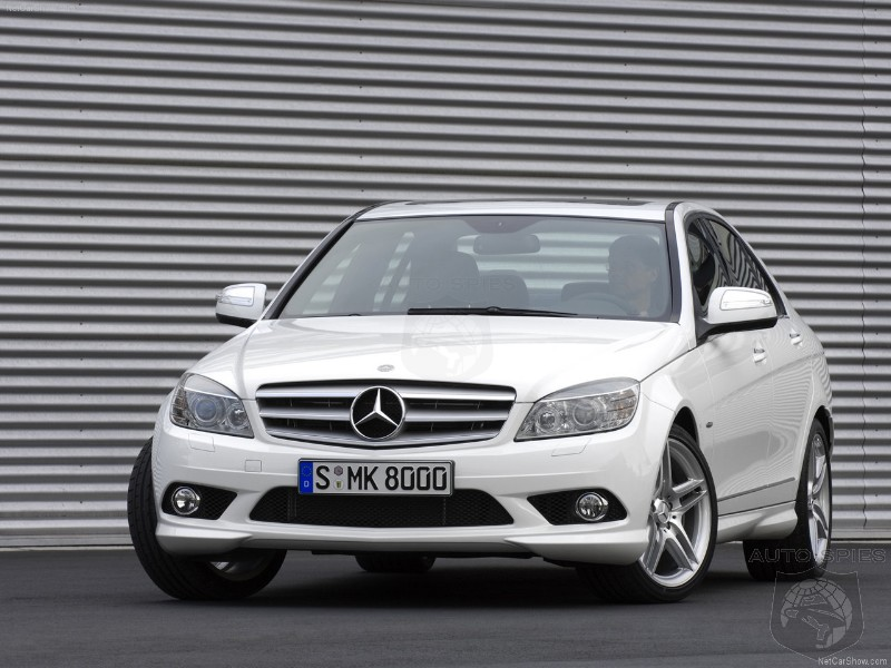 C-Class sedans are produced in Germany at Mercedes-Benz plants in