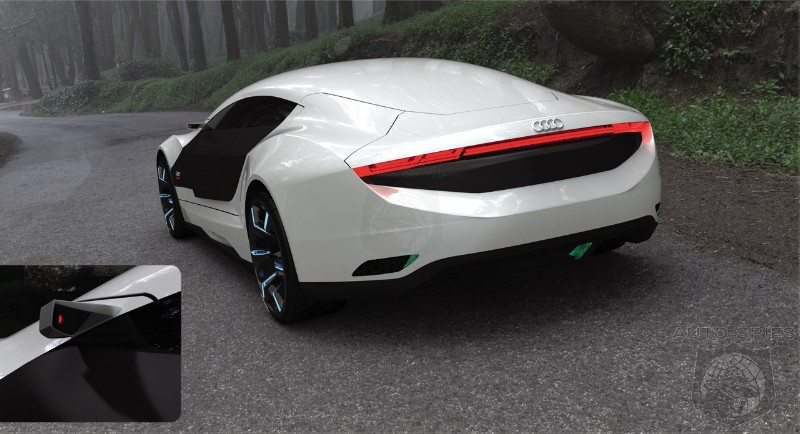 Audi A9: New Car Concept Inspired By Architectural Style