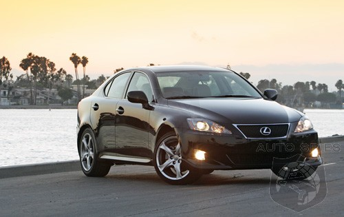 Edmunds reviews the Lexus IS250 with X-Package and 6-speed manual ...