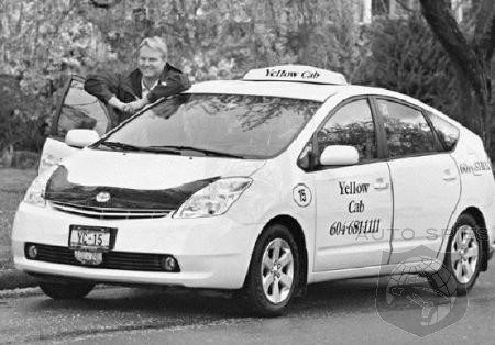 Prius taxi paid for itself in no time