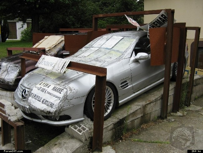 2 top-of-the-range Mercedes abandoned after spending over 20,000 euros of repair