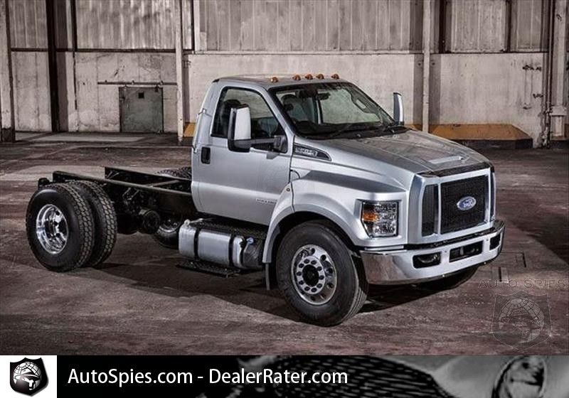 The Ford Is Working On The New Concept F 650 For 2018 Autospies