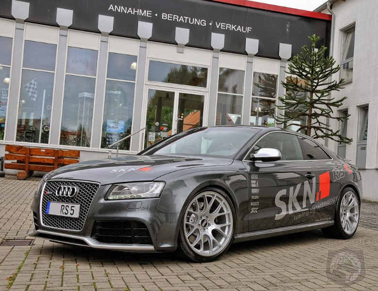 Audi Rs5 Boosted To Over 500 Hp By Skn Tuning Autospies Auto News