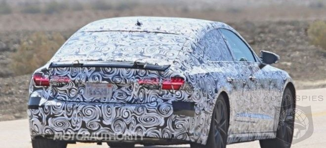 2019 Audi A7 - New Design and First spy photos! Next Gen coming soon!