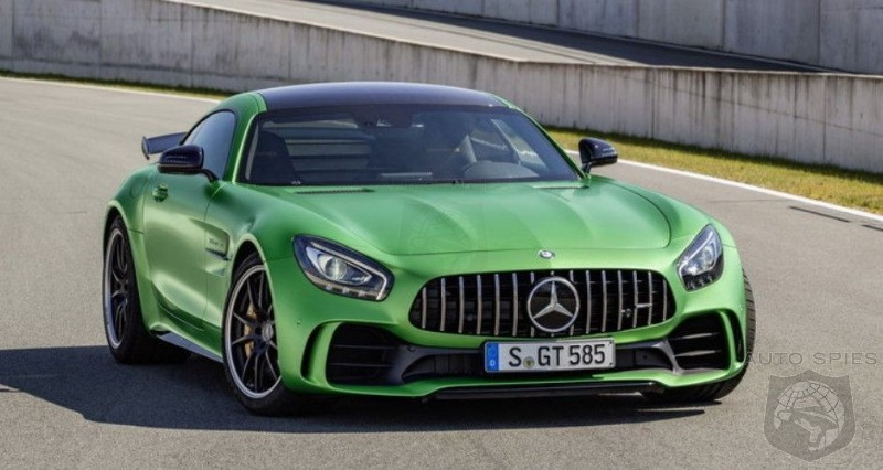 2018 Mercedes Amg Gtr The Latest 577 Hp Supercar Autospies Auto
