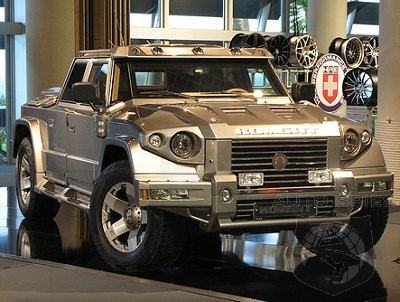 Prombron The Armored Suv That Makes Hummers Whimper