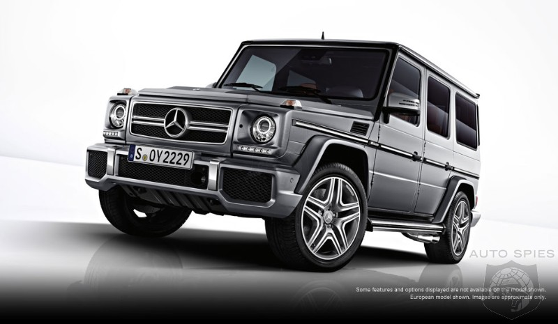 2013 Mercedes G63 AMG First Official Photos