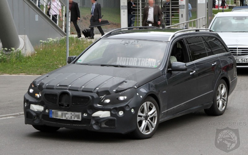 2013 Mercedes-Benz E-Class Wagon Facelift Spied