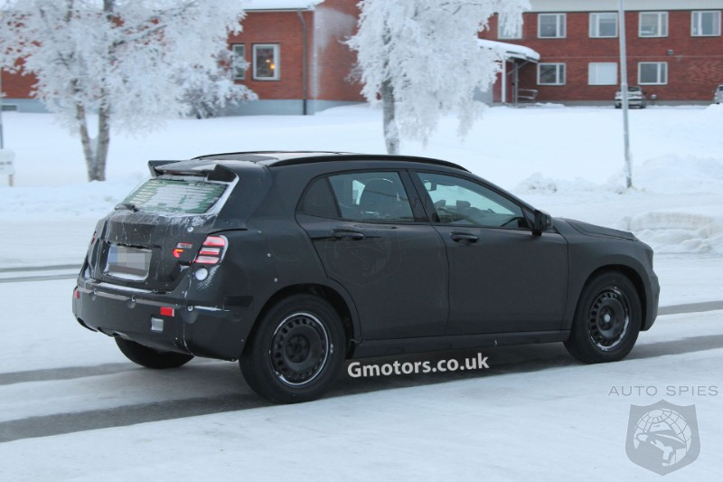 Mercedes-Benz GLA Spied Cold Weather Testing