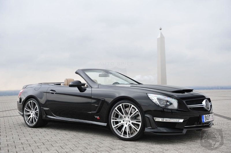 Brabus 800 Roadster Based on SL65 AMG Revealed