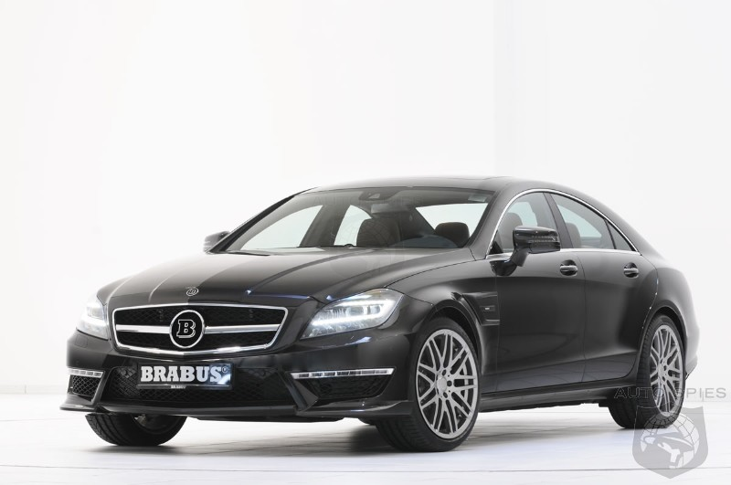 World Debut of the Brabus B63S Mercedes CLS63 AMG