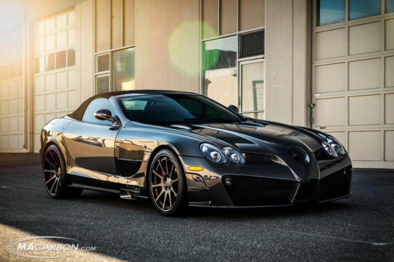 Mansory SLR Renovatio Covered in Carbon Fiber