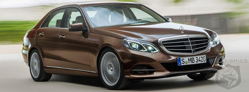 2014 Mercedes E-Class Official Photos Leaked