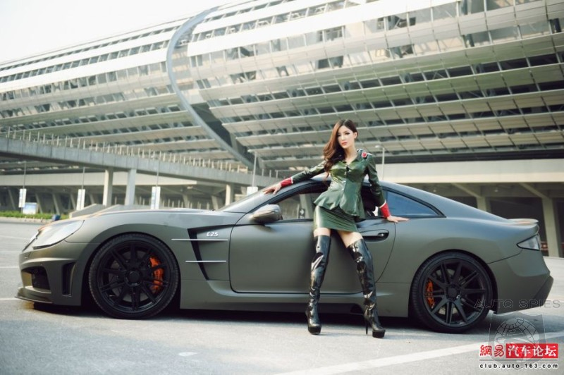 Carlsson C25 Perfect Background for Japanese Super Model