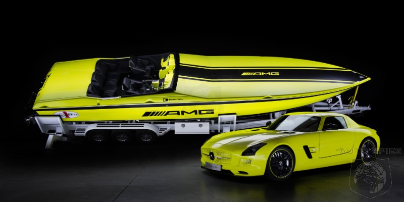 SLS AMG Coupe Electric Drive Cigarette Boat Revealed