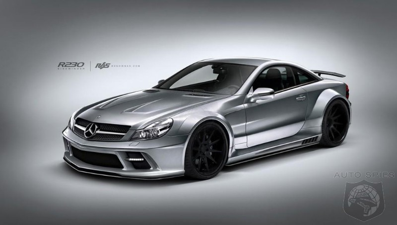 Renown Sidewinder Body Kit for Last Generation Mercedes SL-Class