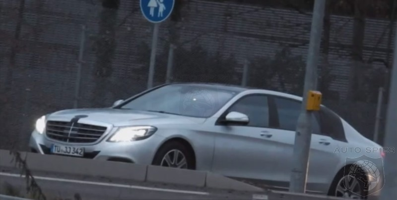 Extra-Long Wheelbase S-Class Spied on Video