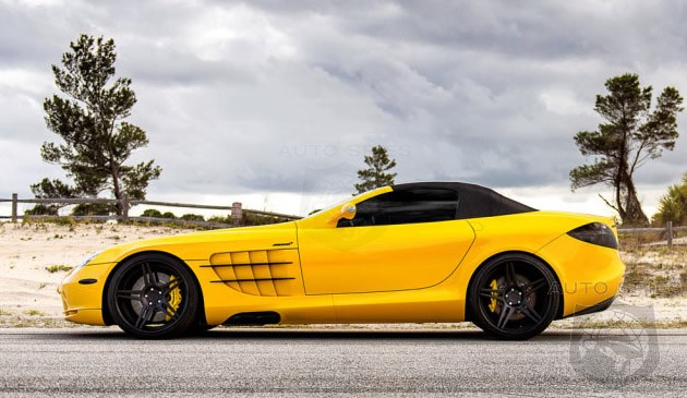 Mercedes SLR Treated to Bright Yellow Makeover by Renntech