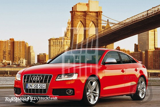 Audi A5 Sportback (4 door coupe) to debut in 2009