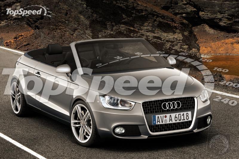 Audi A1 3w Era de aşteptat...A1 decapotabil