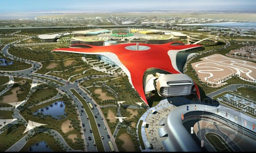 first ferrari theme park in abu dhabi to be built