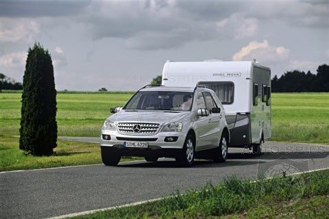 2007 m class trailer towing capacity increase for Mercedes benz towing capacity