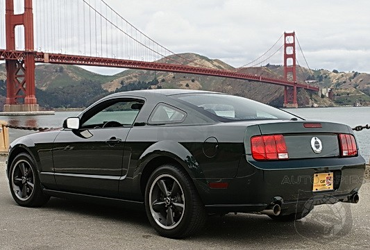 teaser 2008 ford mustang bullitt minus the blue turtleneck sweater and brown leather jacket. Black Bedroom Furniture Sets. Home Design Ideas