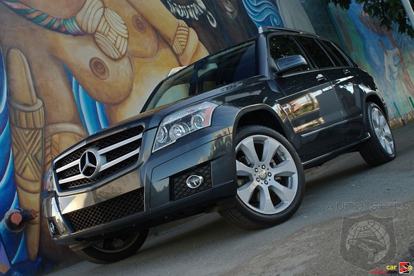 2010 Mercedes Benz GLK350 Review   Compact Crossover Goes Upscale