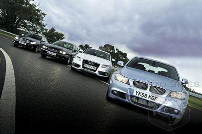 Compact Exec Group Test Audi Vs Bmw Vs Jaguar Vs Mercedes