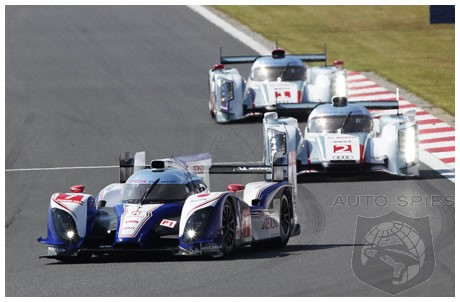 Toyota Takes Down The Legendary Audi R18 In 6 Hours Of Fuji LeMans Race