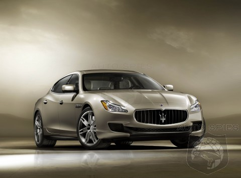 New Maserati Quattroporte revealed