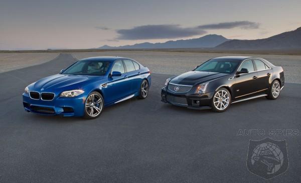 2013 BMW M5 vs. 2012 Cadillac CTS-V - Comparison Test - AutoSpies ...