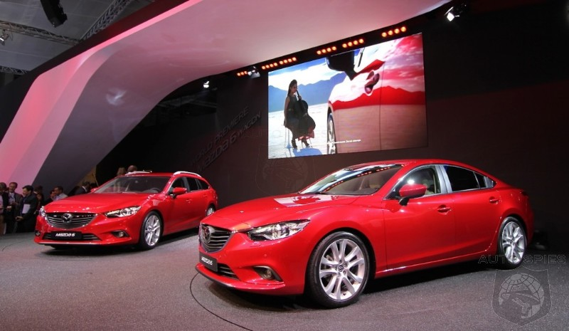 2014 Mazda6 Diesel Confirmed For U.S.